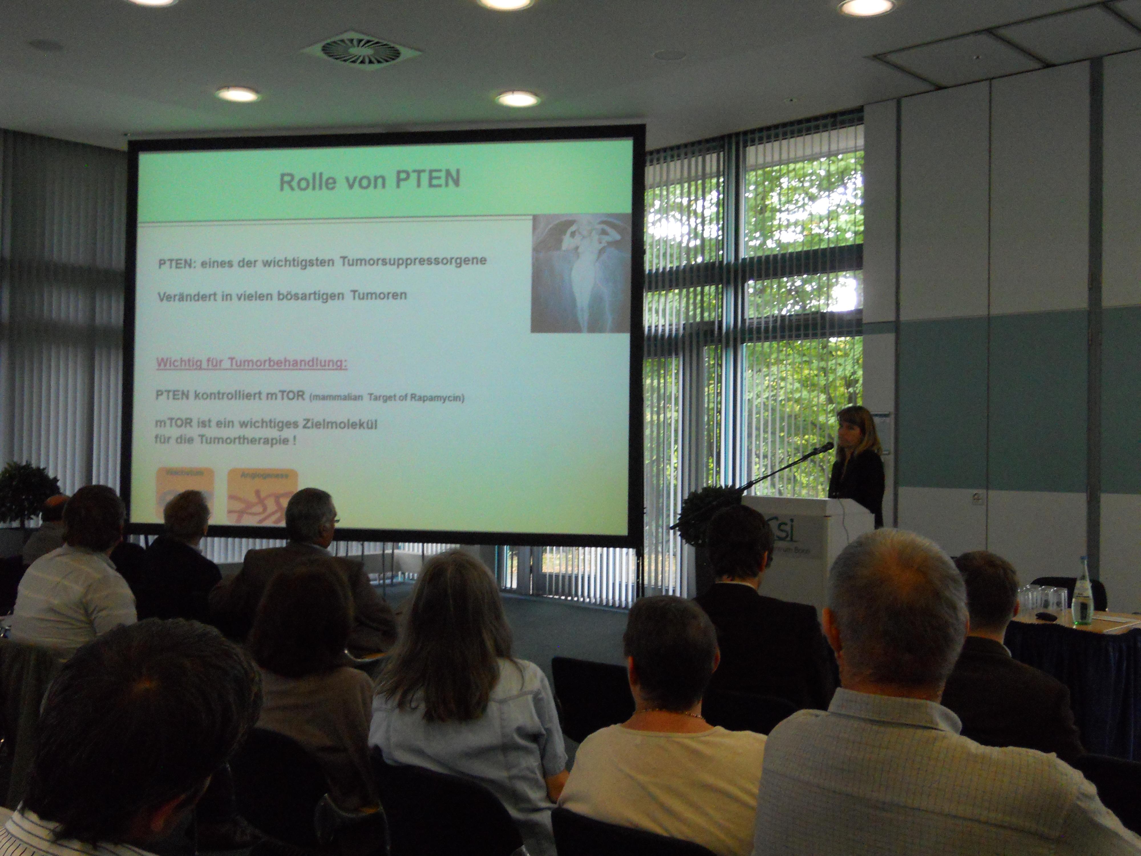 Nicola Holtkamp - Neue therapeutische Ansätze für Tumore bei NF1
